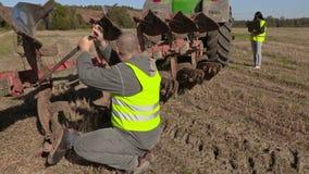 Μπουλόνι αποτυπώσεων της Farmer στο άροτρο φιλμ μικρού μήκους