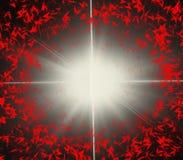 Μπουλόνι αστραπής που παράγει τη φλόγα Ελεύθερη απεικόνιση δικαιώματος