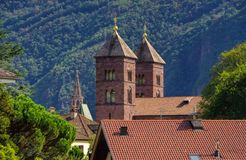 Μπολτζάνο Chiesa del Sacro Cuore Στοκ φωτογραφίες με δικαίωμα ελεύθερης χρήσης