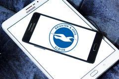 Μπράιτον & ανυψωμένο λογότυπο λεσχών ποδοσφαίρου Albion στοκ εικόνες