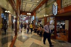 Μπρίσμπαν Arcade στο Μπρίσμπαν Queensland Αυστραλία Στοκ εικόνες με δικαίωμα ελεύθερης χρήσης
