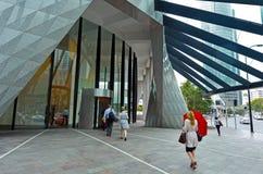 Μπρίσμπαν CBD - Queensland Αυστραλία Στοκ εικόνα με δικαίωμα ελεύθερης χρήσης