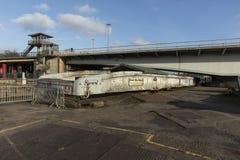 Μπρίστολ, UK, στις 23 Φεβρουαρίου 2019, λείψανα γεφυρών ταλάντευσης Brunels βασίλειων Isambard στοκ φωτογραφίες
