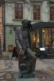 Μπρατισλάβα, τα σλοβάκικα στις 20 Ιανουαρίου 2019: hans ο Χριστιανός το άγαλμα στο στο κέντρο της πόλης στοκ φωτογραφία