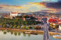 Μπρατισλάβα, Σλοβακία Στοκ εικόνα με δικαίωμα ελεύθερης χρήσης