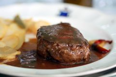 μπριζόλα βόειου κρέατος Στοκ φωτογραφία με δικαίωμα ελεύθερης χρήσης
