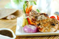 Μπριζόλα μπριζολών χοιρινού κρέατος Στοκ φωτογραφία με δικαίωμα ελεύθερης χρήσης