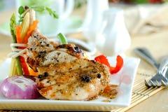 Μπριζόλα μπριζολών χοιρινού κρέατος Griled στοκ εικόνες