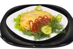 μπριζόλα τυριών κάτω στοκ εικόνες με δικαίωμα ελεύθερης χρήσης