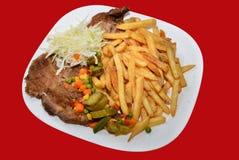 μπριζόλα χοιρινού κρέατος Στοκ εικόνα με δικαίωμα ελεύθερης χρήσης