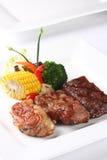 Μπριζόλες βόειου κρέατος στοκ εικόνα με δικαίωμα ελεύθερης χρήσης