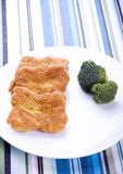 μπριζόλες μπρόκολου στοκ εικόνα με δικαίωμα ελεύθερης χρήσης