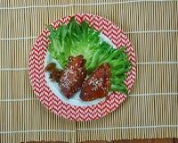 Μπριζόλες χοιρινού κρέατος Πεκίνου στοκ φωτογραφίες