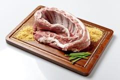 μπριζόλες χοιρινού κρέατος Στοκ Εικόνες