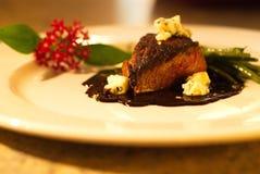 Μπριζόλα βόειου κρέατος γαστρονομική Στοκ εικόνες με δικαίωμα ελεύθερης χρήσης