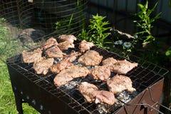 Μπριζόλα βόειου κρέατος στη σχάρα Στοκ Εικόνα