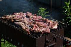 Μπριζόλα βόειου κρέατος στη σχάρα Στοκ φωτογραφία με δικαίωμα ελεύθερης χρήσης