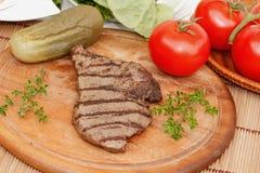 Μπριζόλα βόειου κρέατος Στοκ εικόνα με δικαίωμα ελεύθερης χρήσης