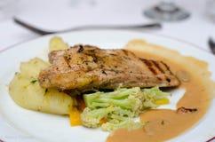 μπριζόλα κοτόπουλου Στοκ φωτογραφία με δικαίωμα ελεύθερης χρήσης