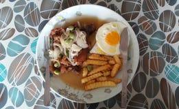 Μπριζόλα κοτόπουλου KKB Στοκ εικόνες με δικαίωμα ελεύθερης χρήσης