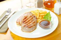 μπριζόλα τηγανητών κοτόπου Στοκ Εικόνες