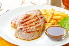 μπριζόλα τηγανητών κοτόπου Στοκ φωτογραφίες με δικαίωμα ελεύθερης χρήσης