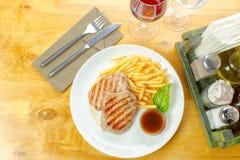 μπριζόλα τηγανητών κοτόπου Στοκ Φωτογραφίες