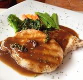 Μπριζόλα χοιρινού κρέατος Στοκ Εικόνες