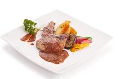 Μπριζόλα χοιρινού κρέατος Στοκ εικόνες με δικαίωμα ελεύθερης χρήσης
