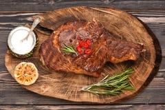 Μπριζόλα Ribeye κρέατος στοκ φωτογραφίες