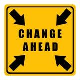 μπροστά αλλαγή Στοκ εικόνες με δικαίωμα ελεύθερης χρήσης