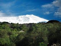 Μπροστά από Etna Ιταλία Σικελία Στοκ Εικόνες