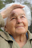μπροστά γυναίκα Στοκ Εικόνες