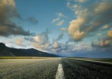 μπροστά δρόμος στοκ εικόνες με δικαίωμα ελεύθερης χρήσης