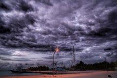 μπροστά θύελλα στοκ φωτογραφίες με δικαίωμα ελεύθερης χρήσης