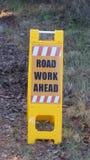 μπροστά οδική εργασία Στοκ εικόνες με δικαίωμα ελεύθερης χρήσης