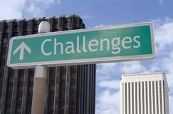 μπροστά προκλήσεις στοκ φωτογραφία με δικαίωμα ελεύθερης χρήσης