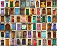 Μπροστινές πόρτες από παντού Στοκ φωτογραφίες με δικαίωμα ελεύθερης χρήσης