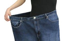 Επιτυχές να κάνει δίαιτα Στοκ εικόνα με δικαίωμα ελεύθερης χρήσης