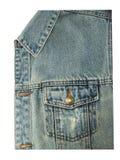 Μπροστινή άποψη της τσέπης τζιν παντελόνι Στοκ Εικόνες