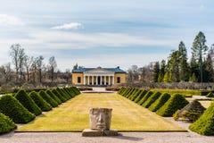 Μπροστινή άποψη του βοτανικού κήπου της Ουψάλα, Σουηδία Στοκ φωτογραφίες με δικαίωμα ελεύθερης χρήσης