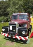 Μπροστινή άποψη φορτηγών Scammell Στοκ Εικόνες