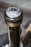 Μπροστινή αναστολή μοτοσικλετών στοκ εικόνες με δικαίωμα ελεύθερης χρήσης