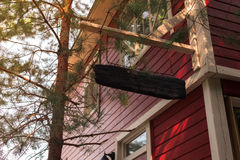 μπροστινή αυλή μερών σπιτιών Στοκ εικόνες με δικαίωμα ελεύθερης χρήσης