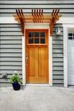Μπροστινή εξωτερική πόρτα του δημαρχείου Στοκ Εικόνα
