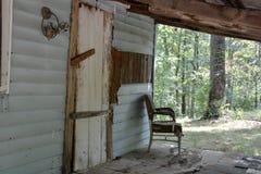 Μπροστινή πόρτα και μέρος Στοκ Φωτογραφία