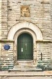 Μπροστινή πόρτα στο παρατηρητήριο Valberg στοκ εικόνα