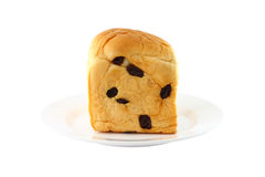 μπροστινή σταφίδα ψωμιού Στοκ φωτογραφία με δικαίωμα ελεύθερης χρήσης
