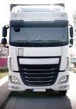 μπροστινή όψη truck στοκ φωτογραφία με δικαίωμα ελεύθερης χρήσης