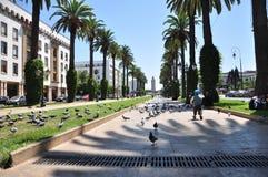 μπροστινή rabat παλατιών του Mohamed Μαρόκο βασιλική πλατεία VI Στοκ εικόνες με δικαίωμα ελεύθερης χρήσης